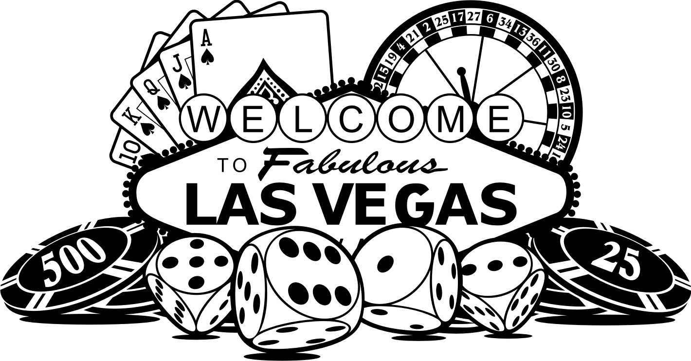 Free Las Vegas Clipart Black And White, Download Free Clip.