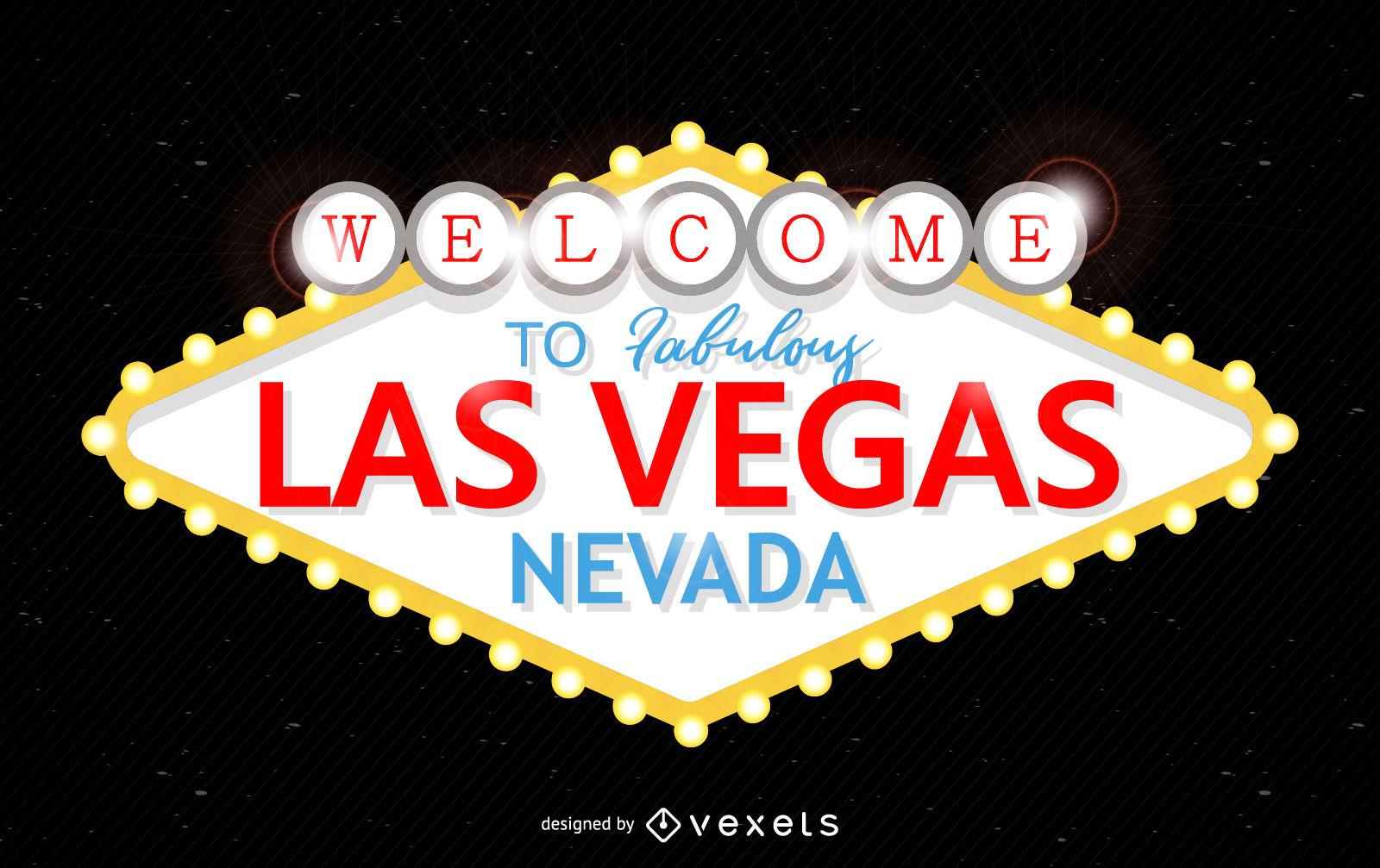 Fabulous Las Vegas sign.