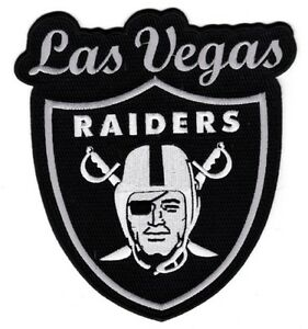 Details about LAS VEGAS RAIDERS LOGO PATCH XLG 8 1/2\
