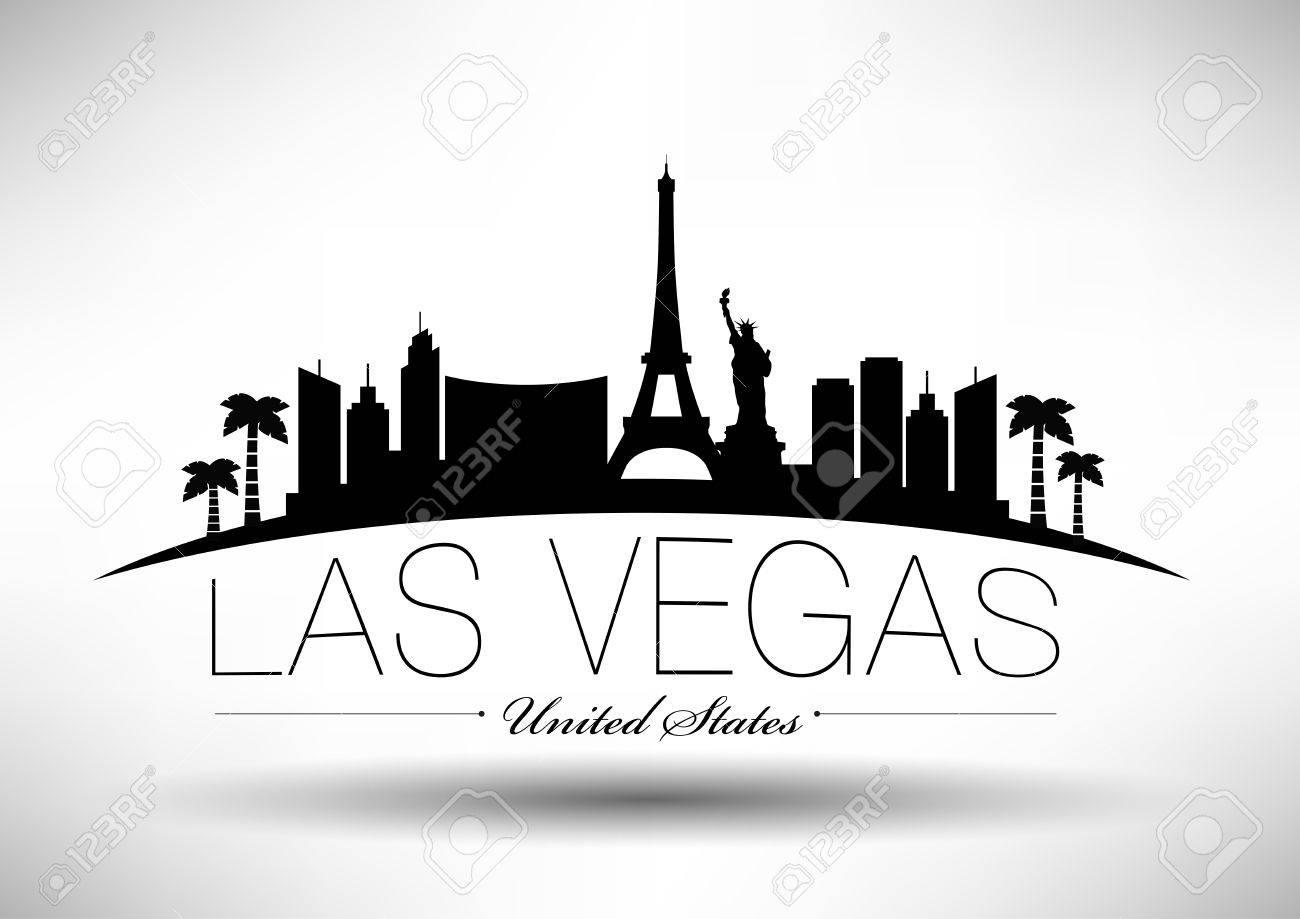 Las Vegas City Skyline Design.