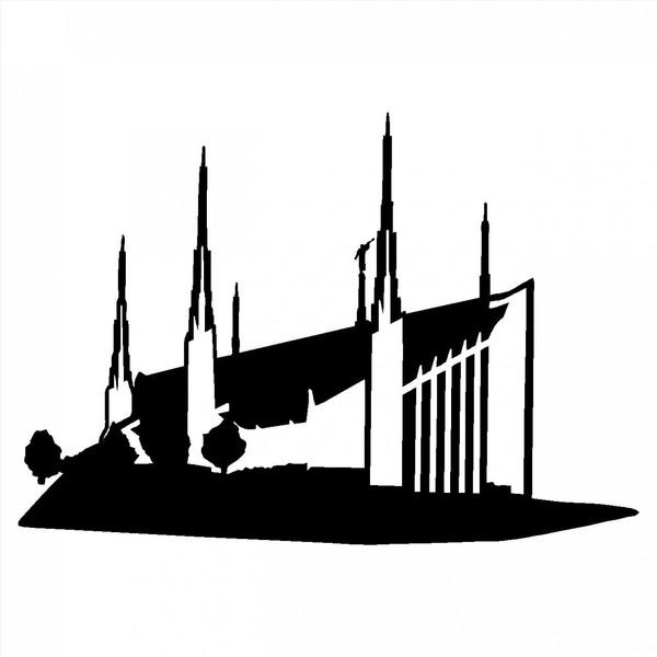 Lds Temple Silhouette Clip Art at GetDrawings.com.