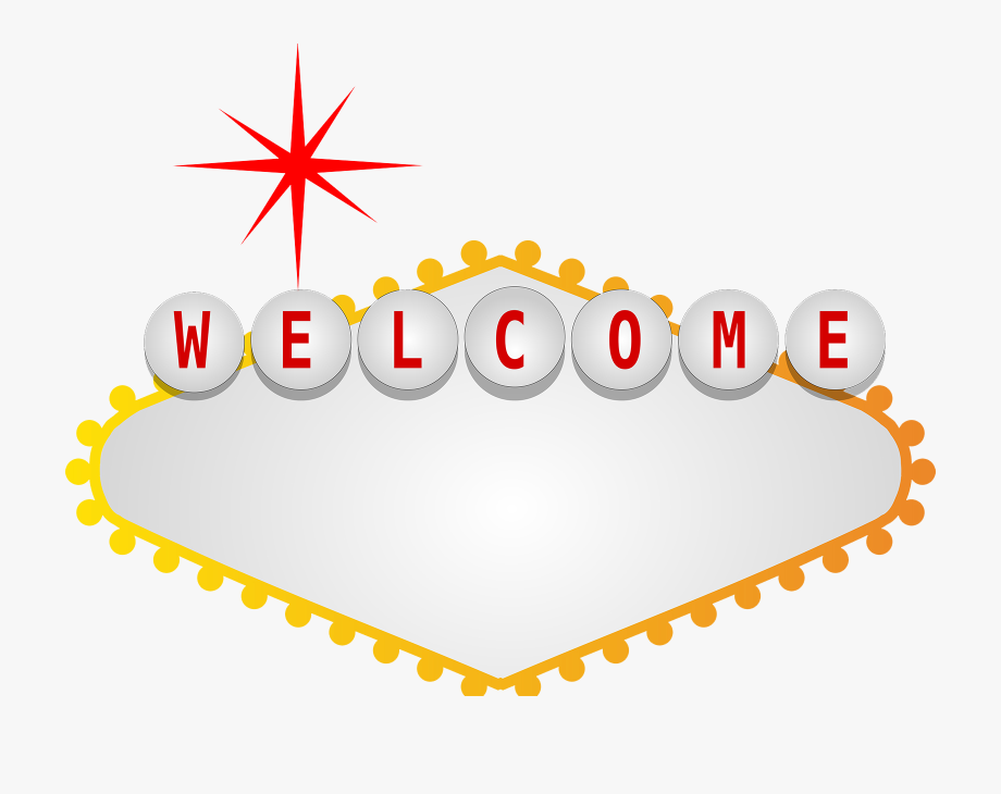 Welcome To Fabulous Las Vegas Sign Png.