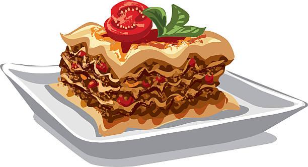 Best Lasagna Illustrations, Royalty.