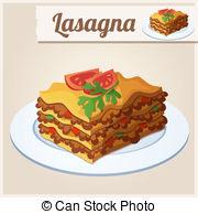 Lasagna Vector Clipart EPS Images. 249 Lasagna clip art vector.