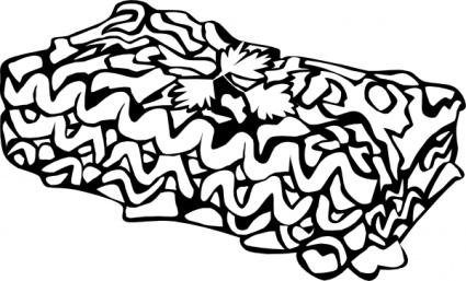 Lasagna clip art Free Vector.