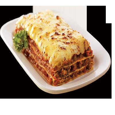 Beef Lasagna.