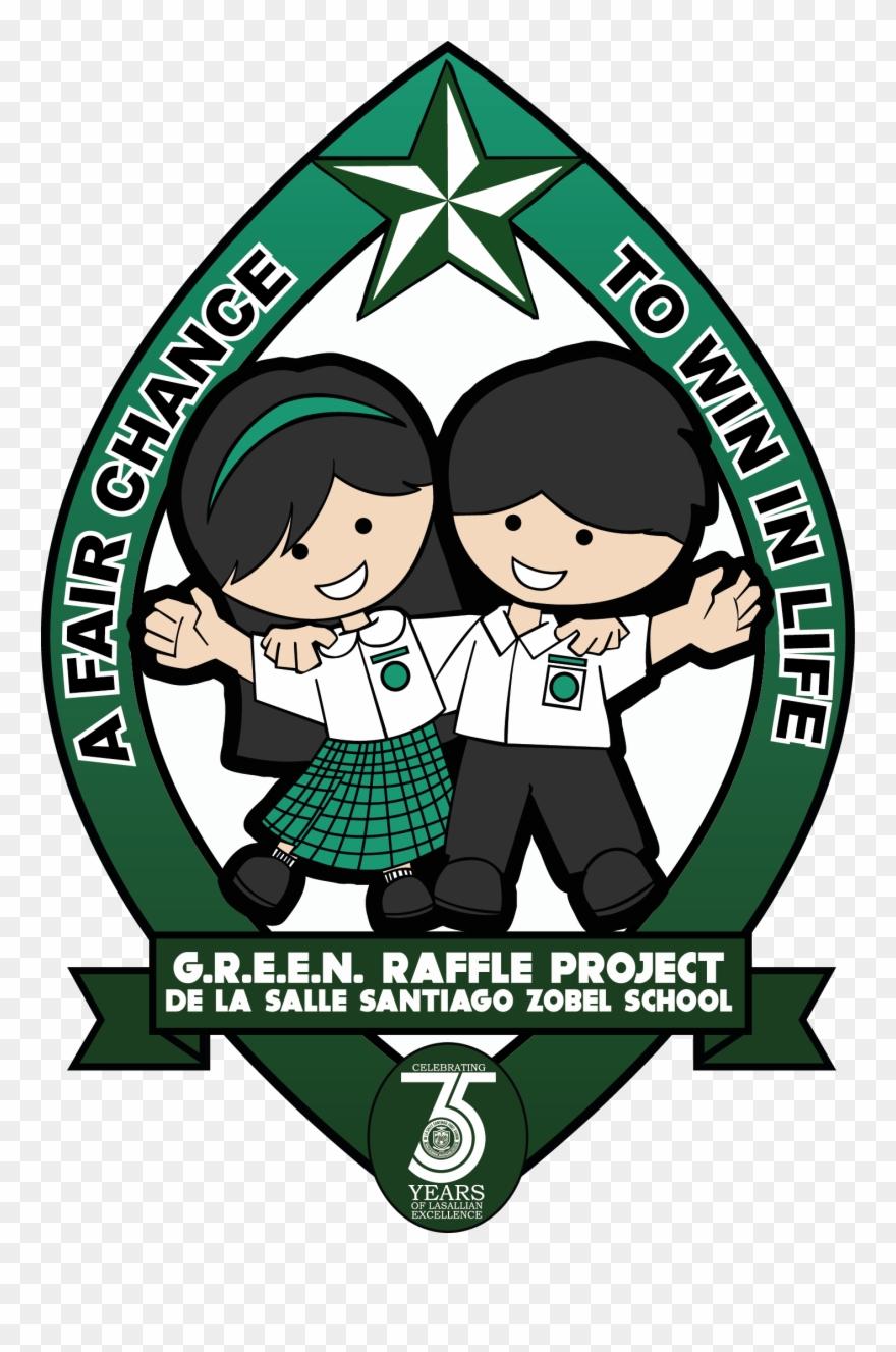 Green Raffle Project Logo Full Color.
