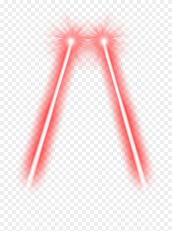 Red Laser Transparent.
