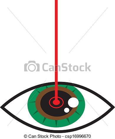 Eye Laser Clip Art.