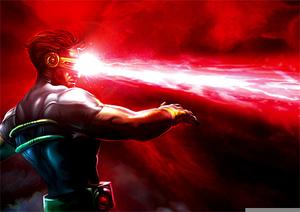 Marvel Laser Eyes.