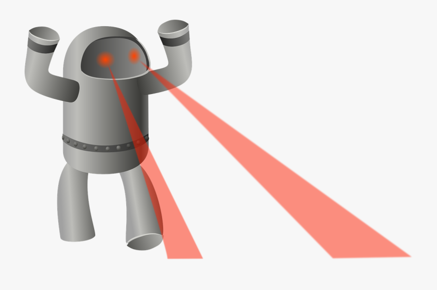 Robot Laser Eyes Archer.