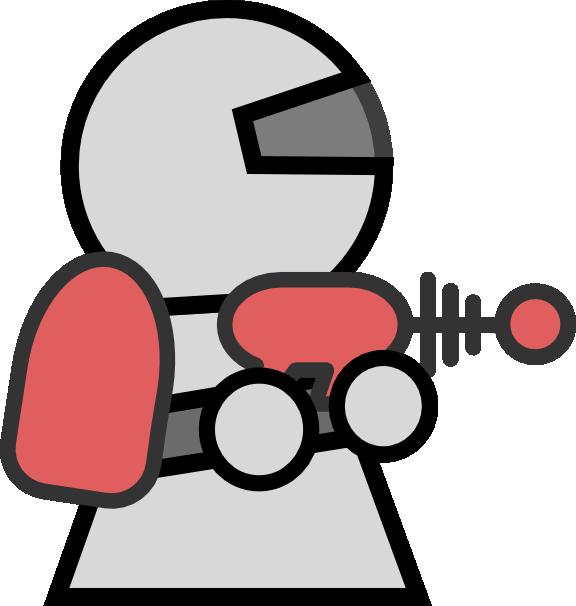 Laser Gun Clipart.