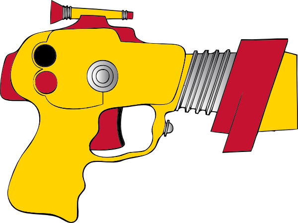 Laser Tag Clipart.
