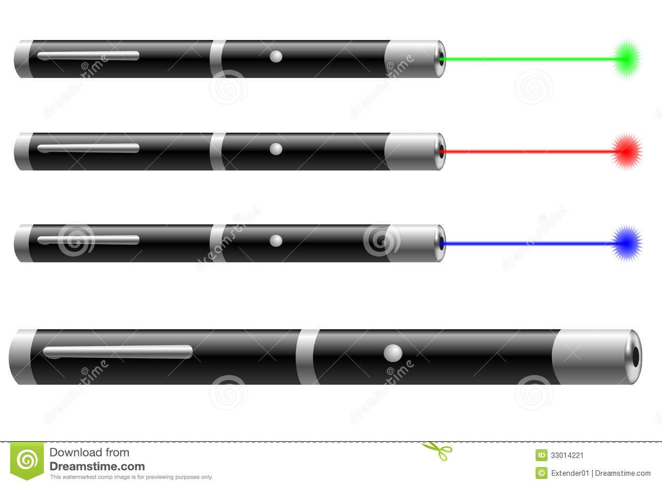 Laser pointer clipart.