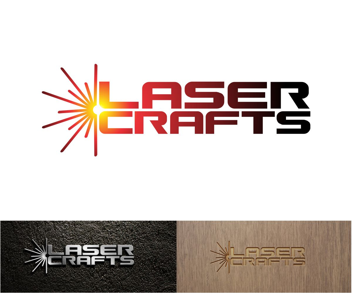 Bold, Traditional, Business Logo Design for Laser Crafts by.