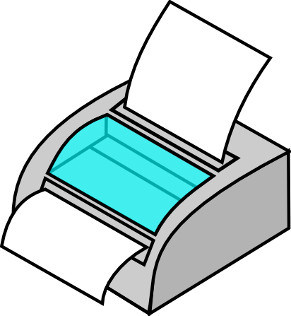 Free to Use & Public Domain Printer Clip Art.