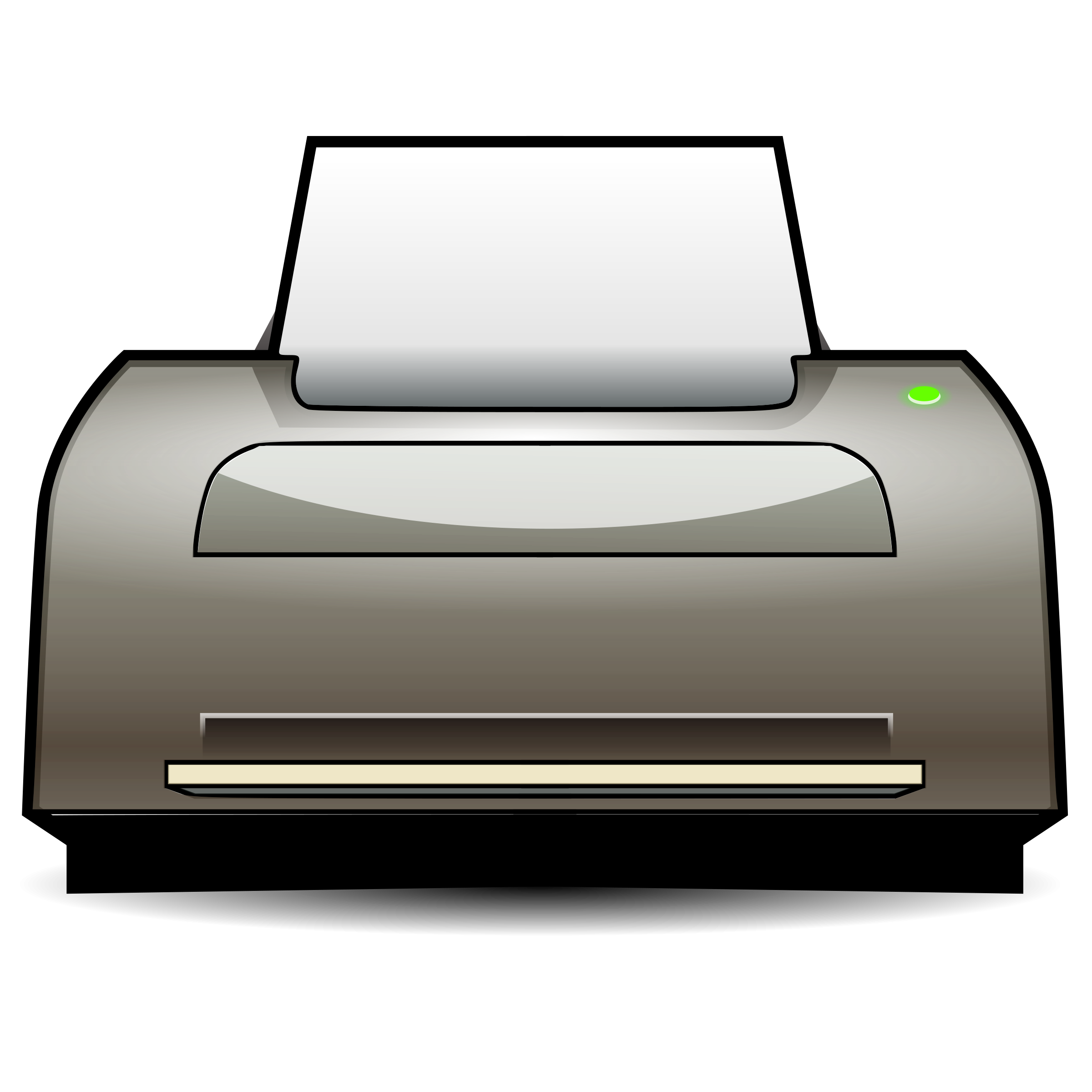 Clipart printer.