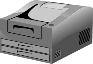 Printers Clipart.