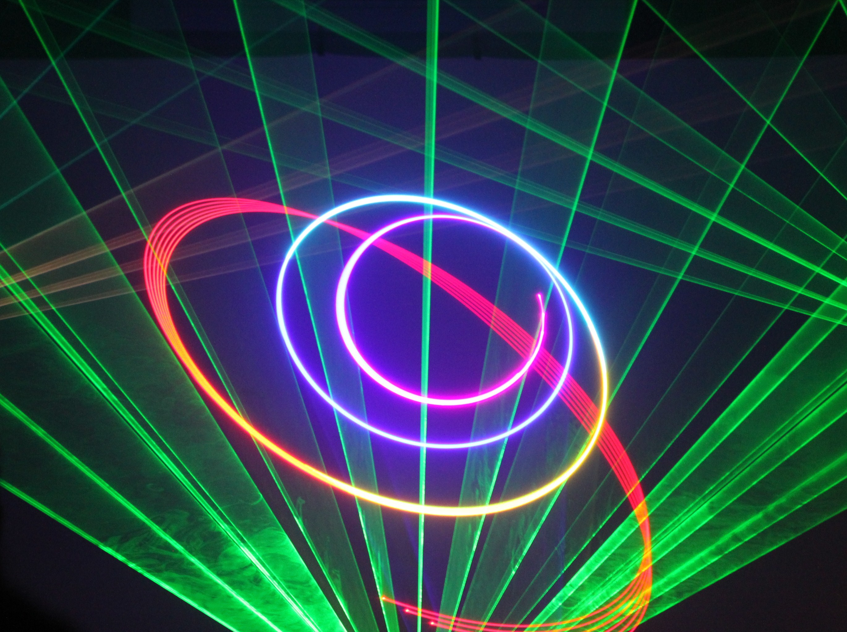 laser light show.