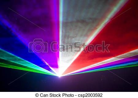 Clip Art of Disco and laser show.