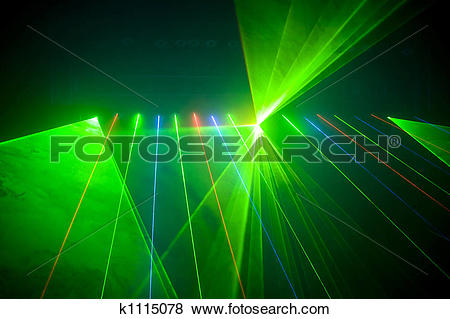 Stock Illustration of Disco and laser show k1115078.