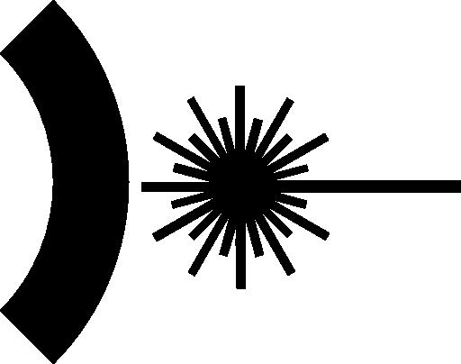Laser Symbol Clipart.