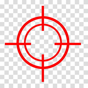 Red crosshair illustration, Laser tag Target Corporation Toy.