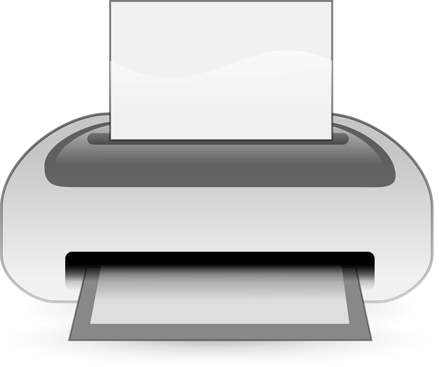 Free vector graphic: Laser Printer, Printer.
