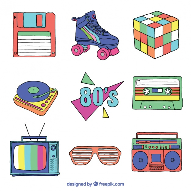 80s Vectors, Photos and PSD files.