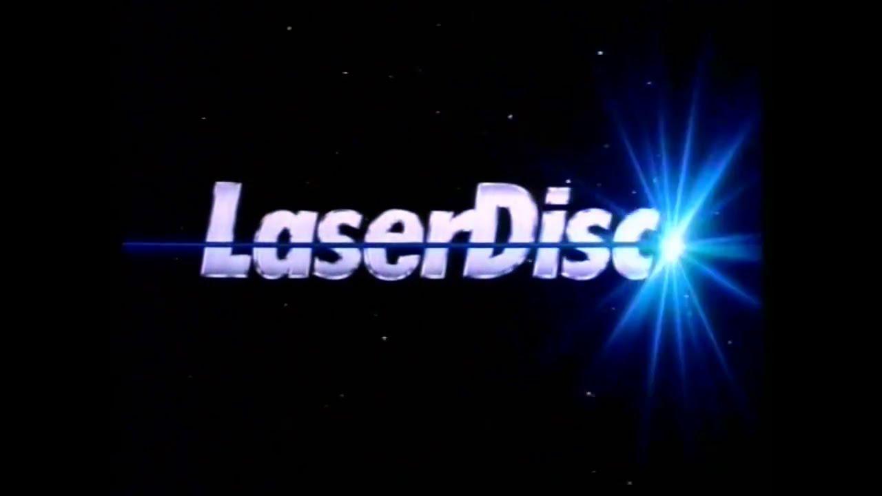 Pioneer Laser Disc logo in Space.