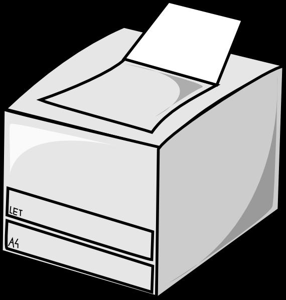 Laser Printer Clip Art at Clker.com.