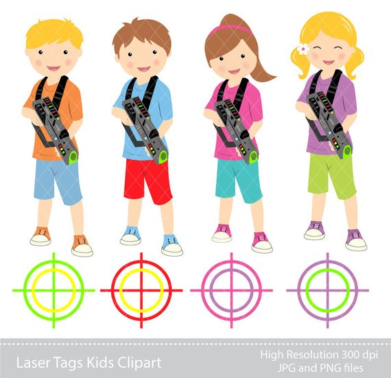 Laser tag clipart 2 » Clipart Station.