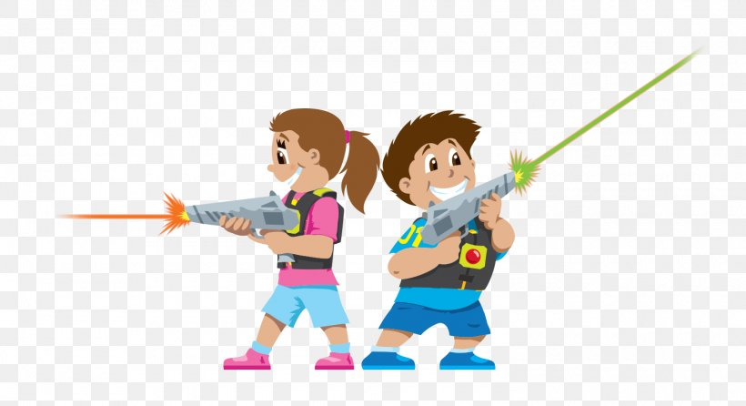 Laser Tag Game Child Clip Art, PNG, 1500x817px, Watercolor.