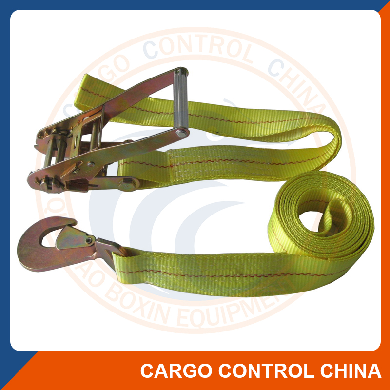 Ratchet Strap Container Lashing Materials, Ratchet Strap Container.