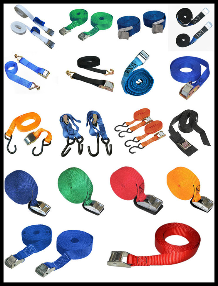 Lashing Strap With Stainless Steel Cam Buckle 35mm.