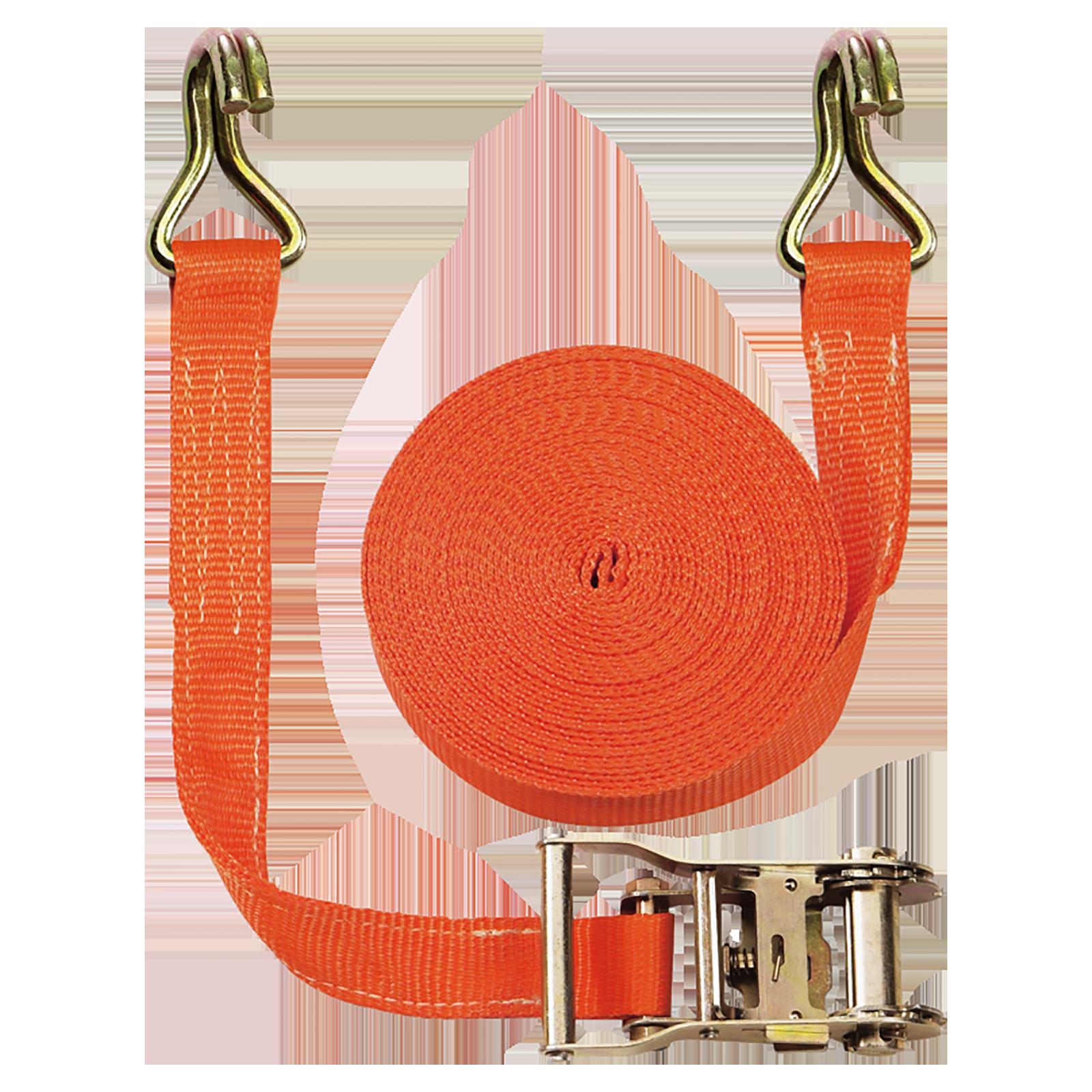 Lashing strap 2 parts, 2000 daN (kg), length 10m, width 35mm.