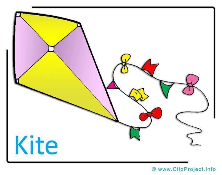Kite Clipart Image free.