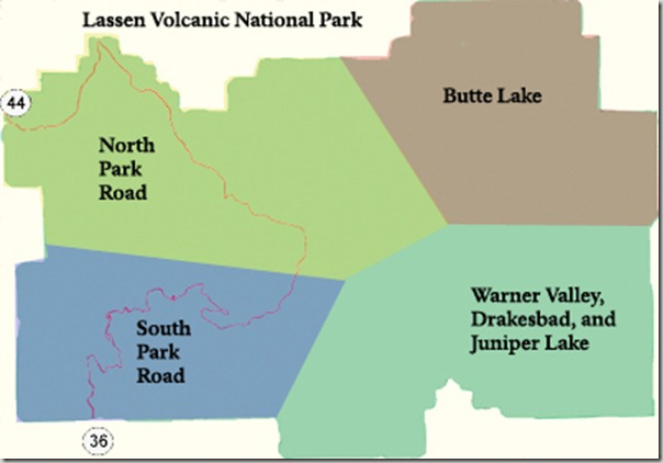 Visiting Lassen Volcanic National Park.