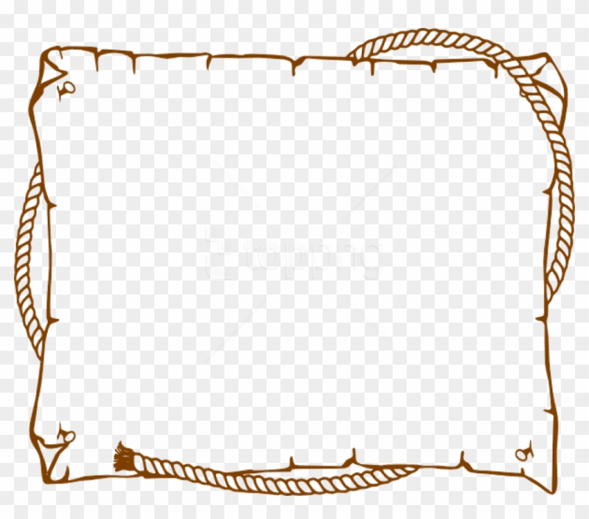 Free Png Border Rope Western At Clker Com Vector Online.