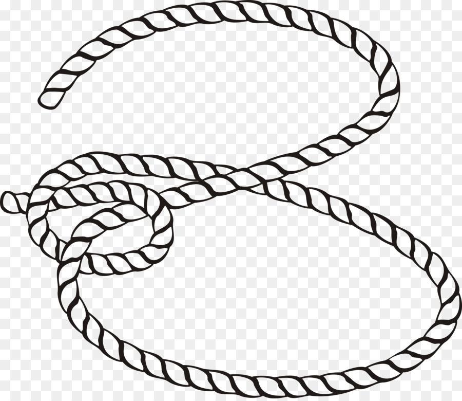 Rope Cartoon clipart.