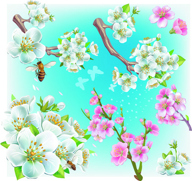 Cherry blossom free vector download (869 Free vector) for.