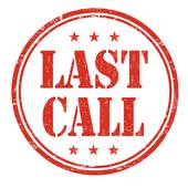 Last call clipart 1 » Clipart Station.