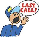 Last Call Clipart.