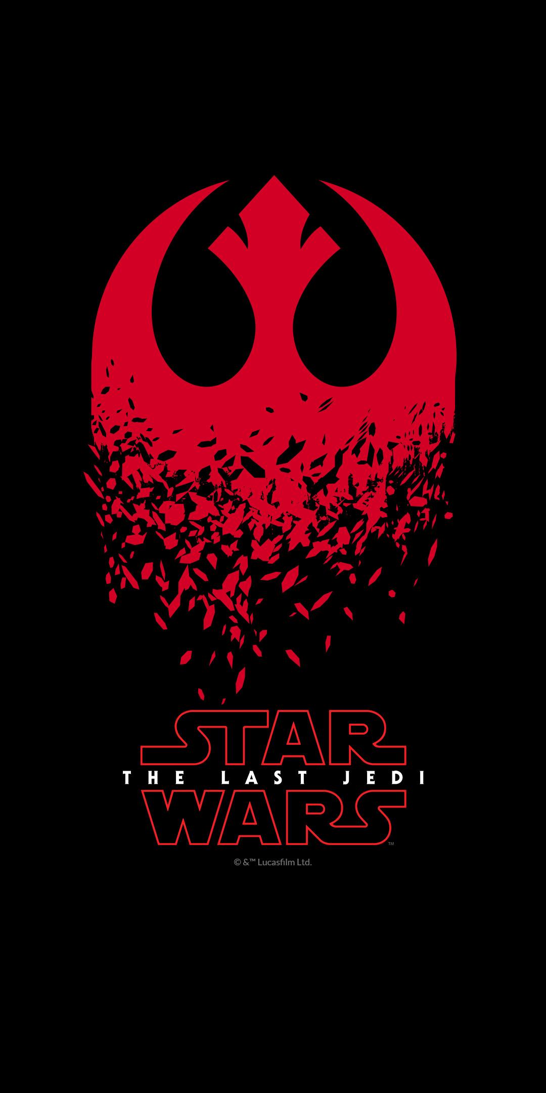 Star Wars The Last Jedi Movie Poster.
