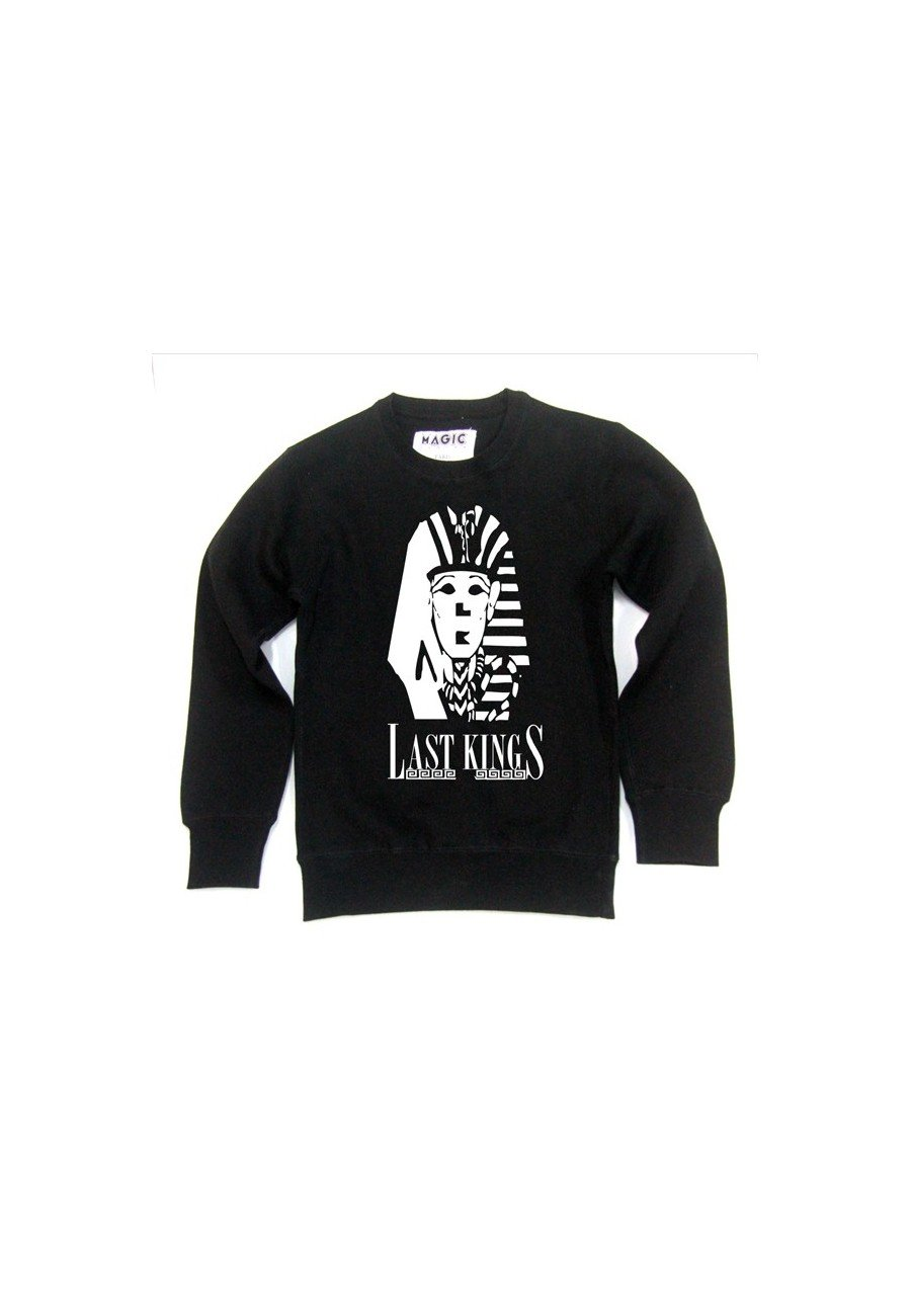 LAST KINGS SWEAT CREWNECK SHOP ON LIGNE.