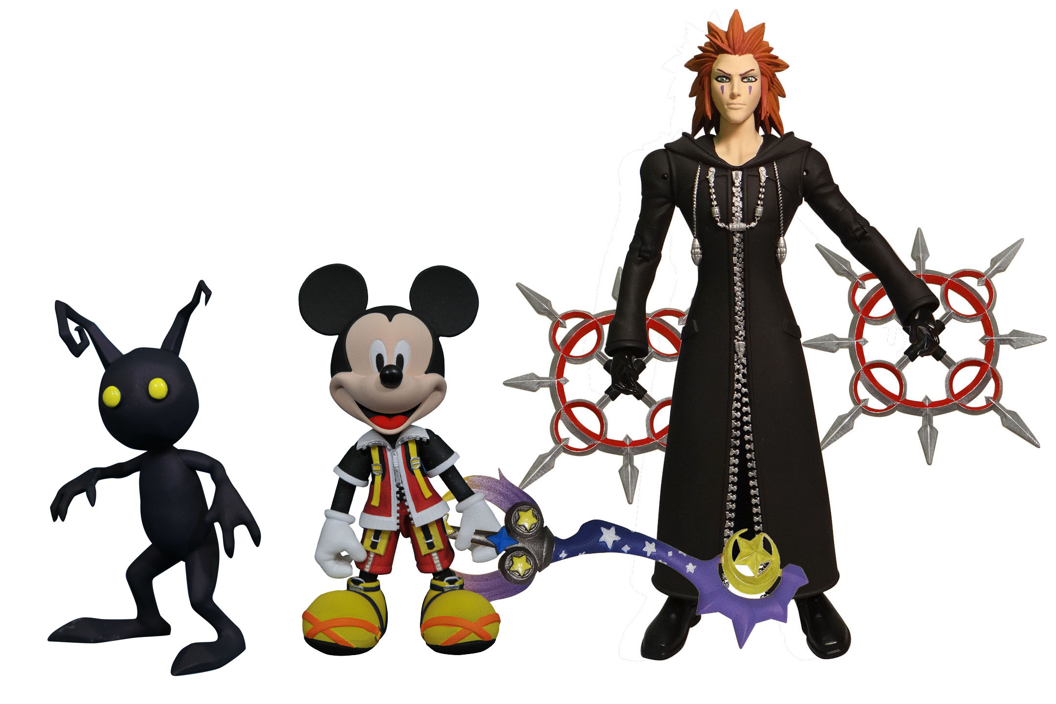 Check Out These Kingdom Hearts 2 Figures Coming This Fall.