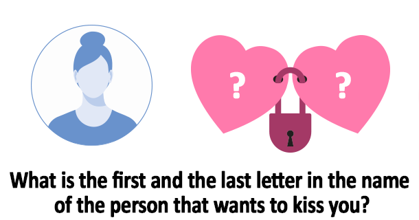 is the first and the last letter in the name of the person that.