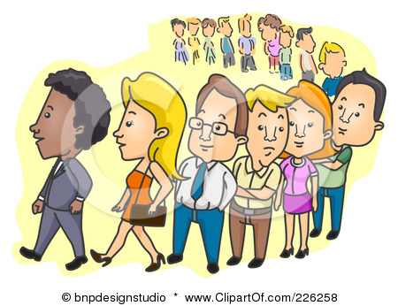 Gallery For > Last Person in Line Clipart.