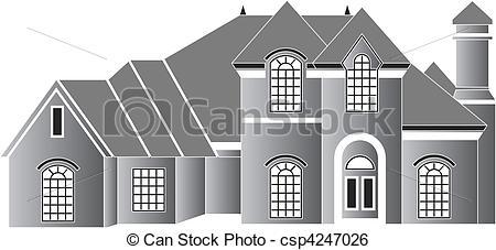 Residence Clip Art.