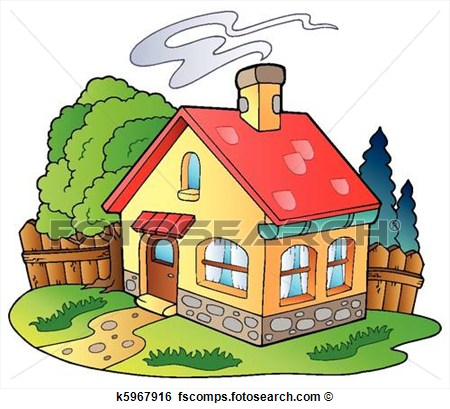 residence clipart house Vector Clipart id.